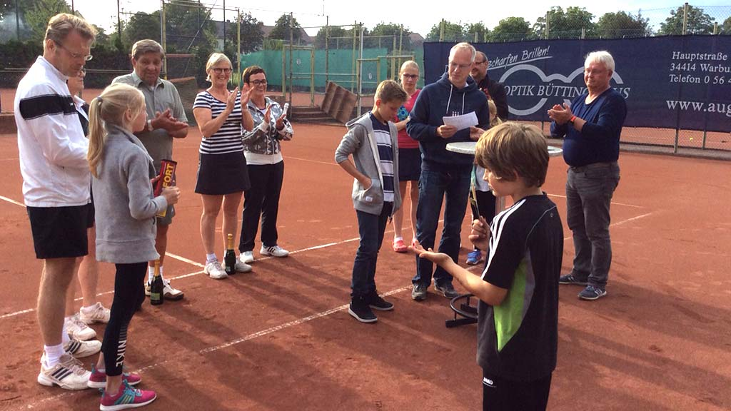 Sommerfest   Tennisclub Warburg e.V.   Telefon 05641.8772
